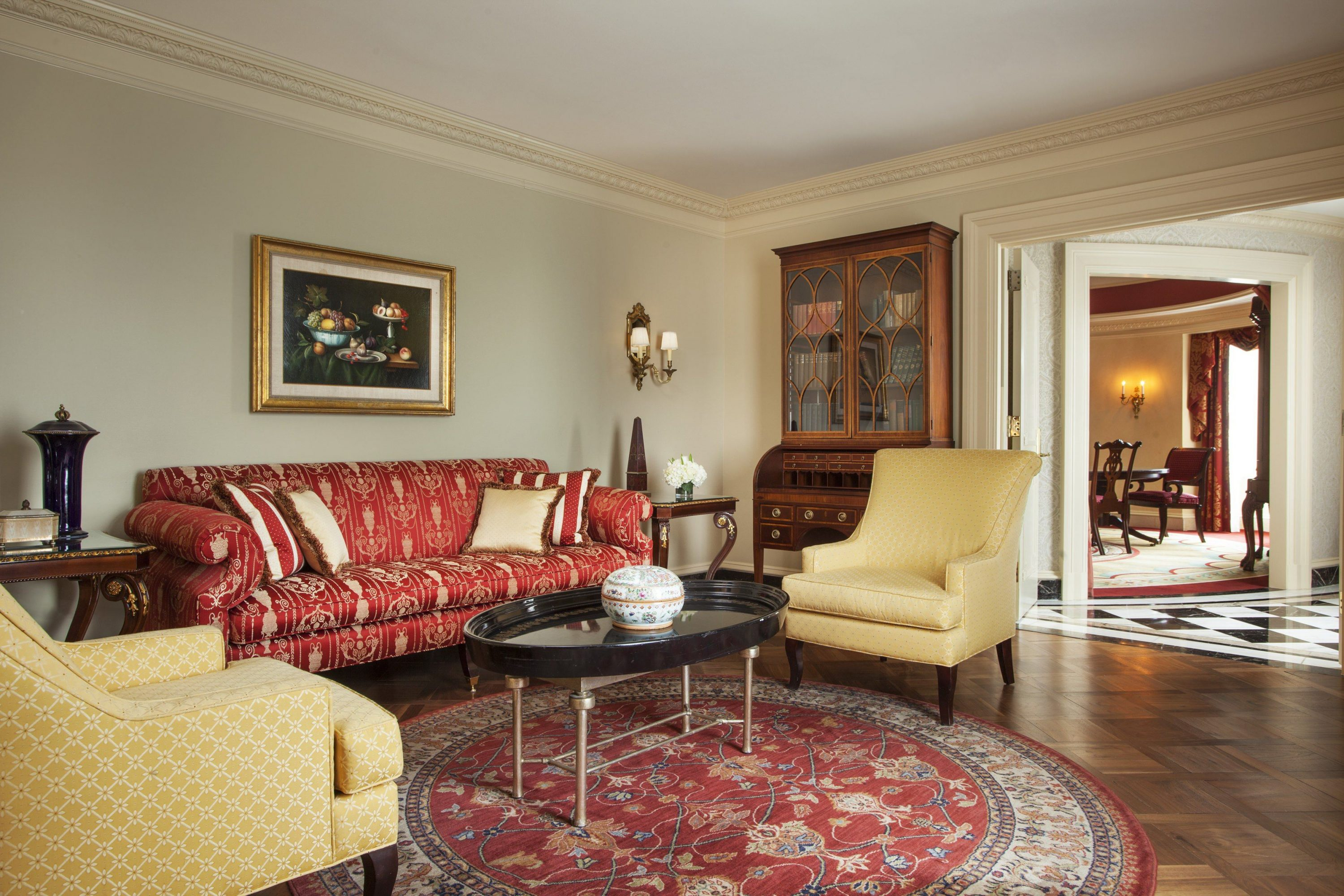 Guest rooms suites the willard intercontinental for 2 bedroom suite hotels washington dc